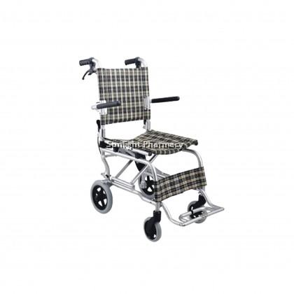 Ezylife Aluminium Light Weight Transit Wheelchair FS804LABJ